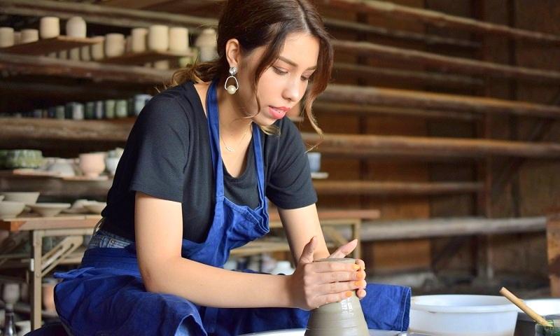 英語で陶芸